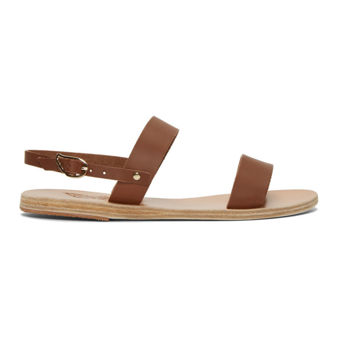 Greek Clio Greek Greek Brown Ancient Brown Sandals Sandals Ancient Clio Ancient O0wP8nk