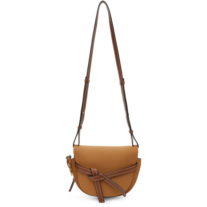 Loewe Brown Small Gate Bag