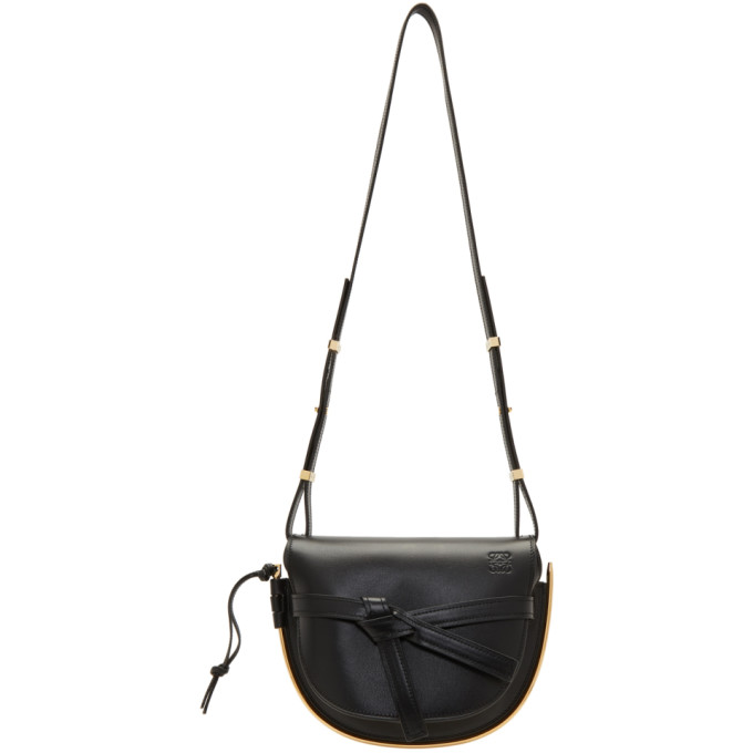 Loewe Black Small Gate Frame Bag