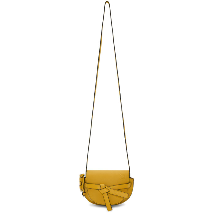 Loewe Yellow Mini Gate Bag