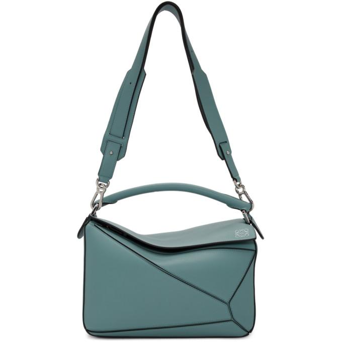 db09a32764 BUY Loewe Blue Puzzle Bag