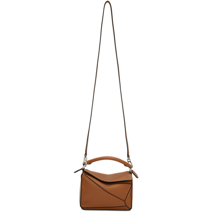Mini Puzzle Bag in 2530 Tan