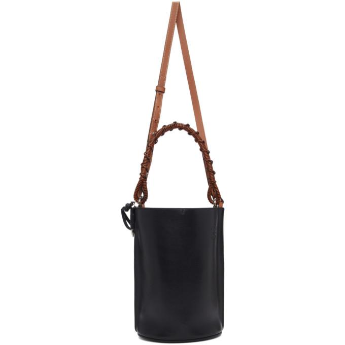 Loewe Black Gate Bucket Bag