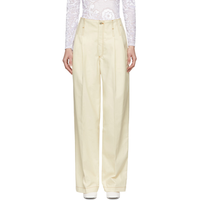 Loewe Off-White Balloon Trouser Jeans
