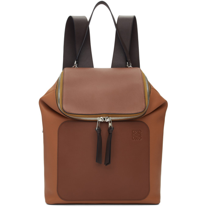 Loewe Brown Goya Backpack