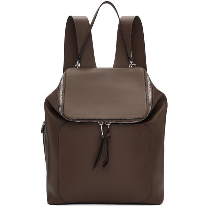 Loewe Taupe Goya Backpack