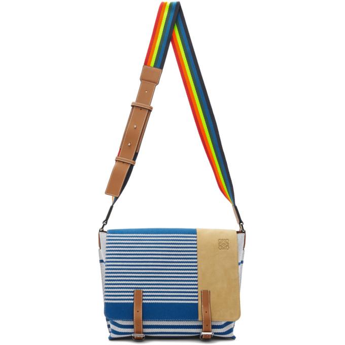 Loewe Blue Millit Messenger Bag