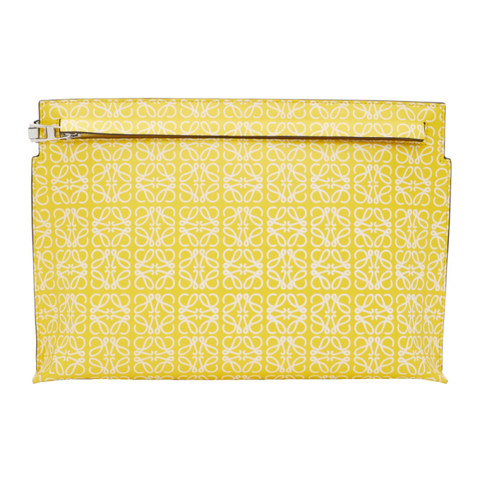 Loewe Yellow Repeat T Pouch