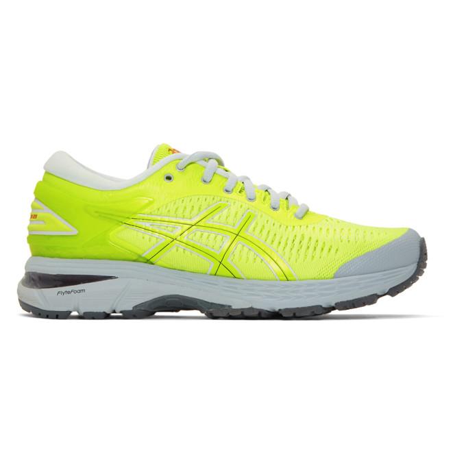 f6675d3073598 Harmony Yellow Grey Asics Edition Gel Kayano 25 Sneakers