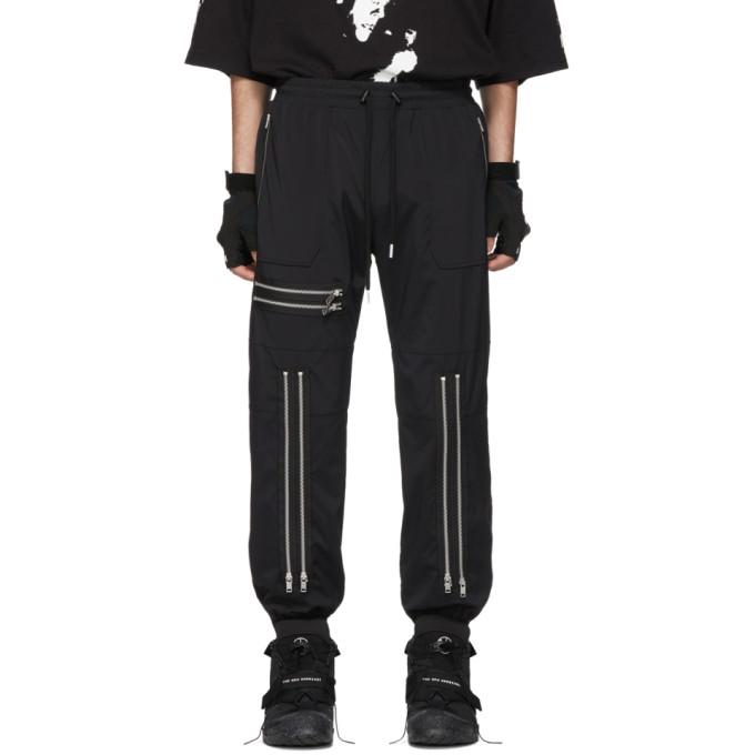 99% IS Pantalon de survetement noir 90s Bondage