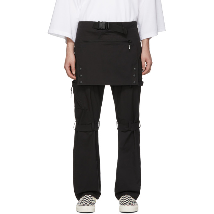 Image of 99% IS Black Overall Trousers