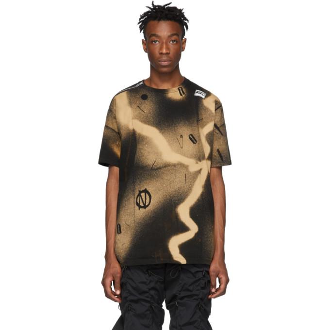 99% IS T-shirt a glissiere noir Busik