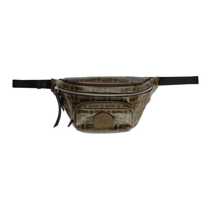 Fendi Brown 'Forever Fendi' Belt Bag
