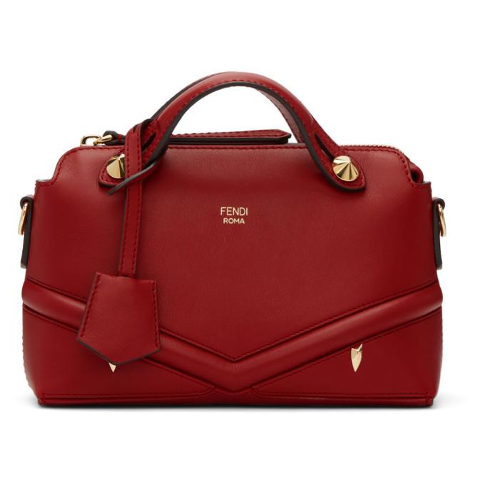 Fendi Red Mini By The Way Bag