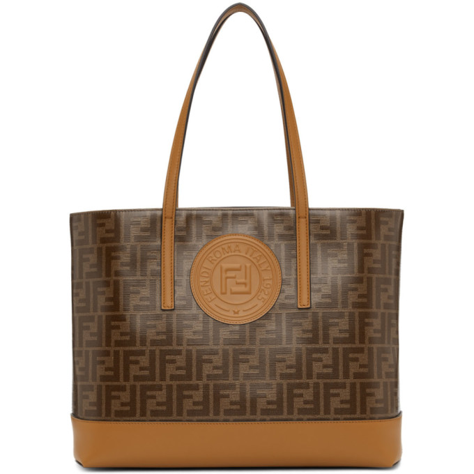 Fendi Brown Forever Fendi Tote