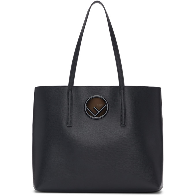 Fendi Black F is Fendi Shopper Tote