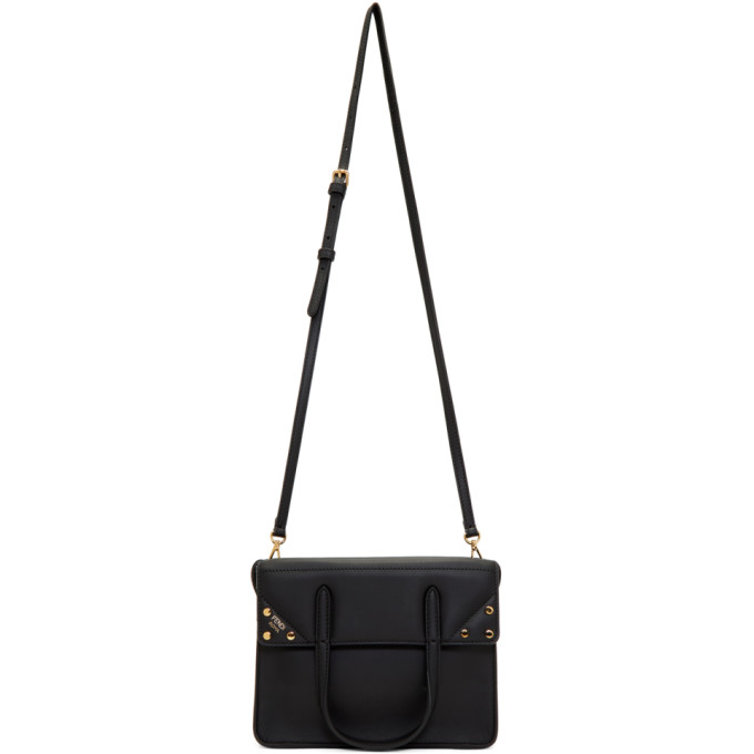 Fendi Black Small Forever  Flip Bag In F0Kur Black