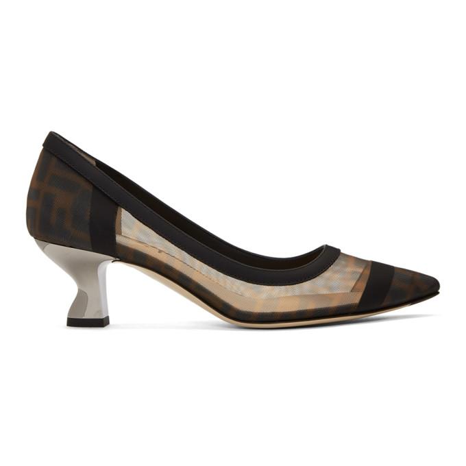 Fendi Black Forever Fendi Colibri Heels
