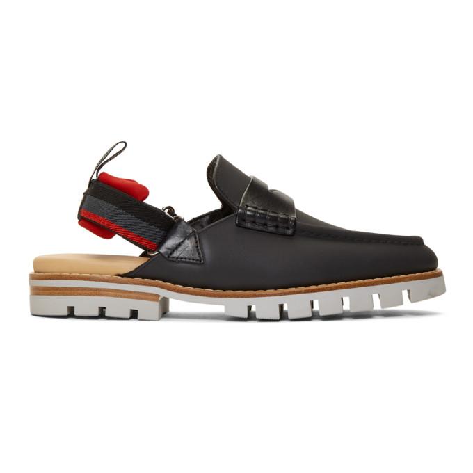 0cd7663ee3662 Fendi - Leather Loafer Sandals - Mens - Brown In F15Vm.Blk ...