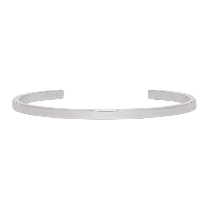 LE GRAMME Le Gramme Silver Polished Le 7 Grammes Bracelet