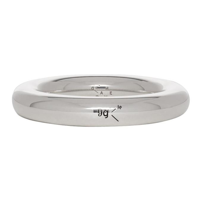 LE GRAMME Le Gramme Silver Polished Le 9 Grammes Bangle Ring