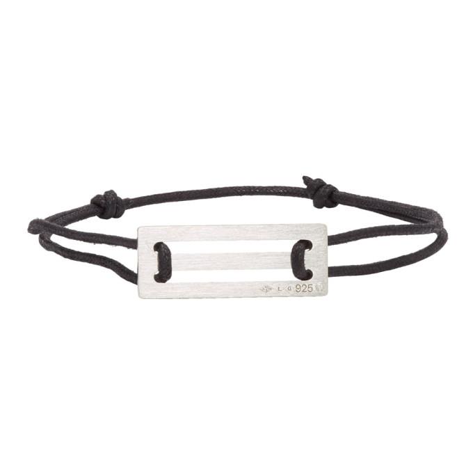 LE GRAMME Le Gramme Black Cord Le 25/10G Bracelet