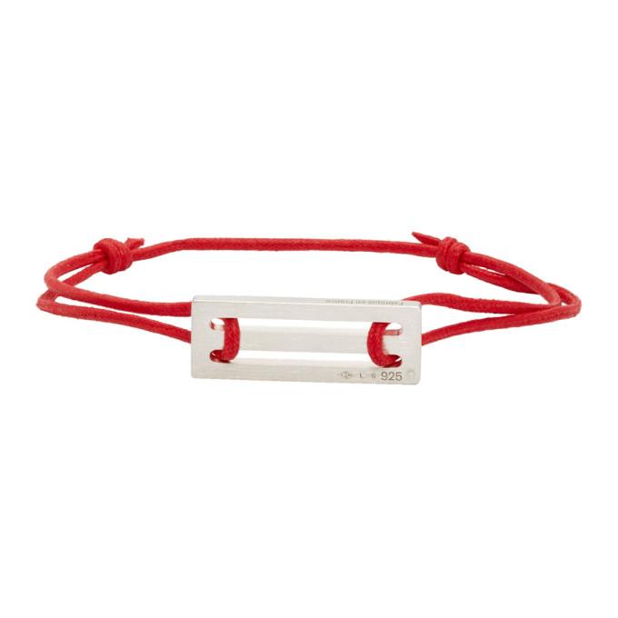 LE GRAMME Le Gramme Red Cord Le 25/10G Bracelet
