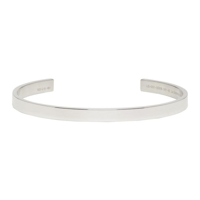 LE GRAMME Le Gramme Silver Polished Le 15 Grammes Bracelet