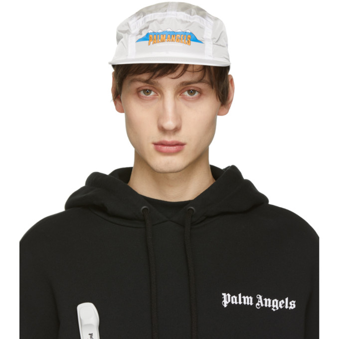 Palm Angels Casquette blanche Hiking