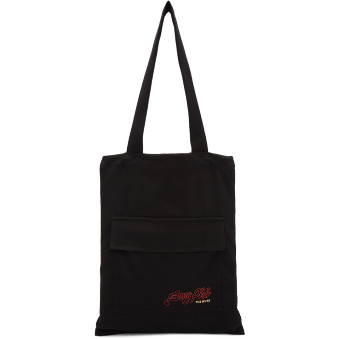 Song For The Mute Black Nothing Edition 'pho' Tote