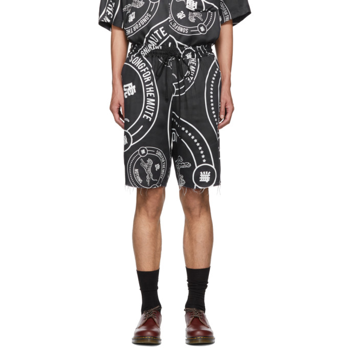 Song For The Mute Black Nothing Edition Balm Shorts
