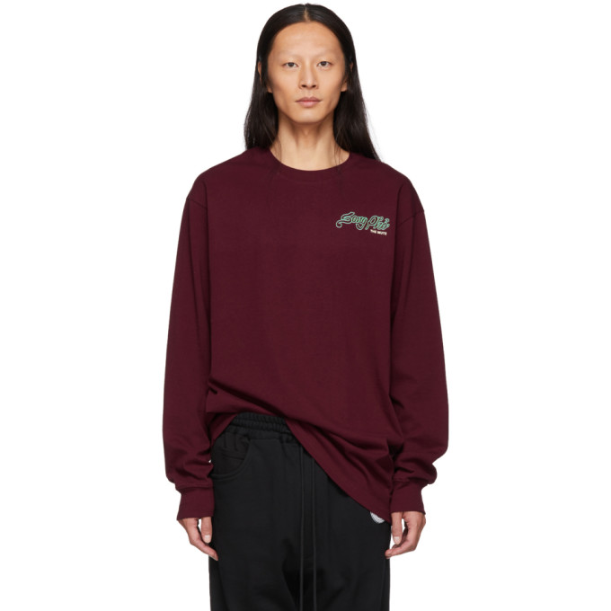 Song For The Mute Burgundy Nothing Edition Pho Long Sleeve T Shirt
