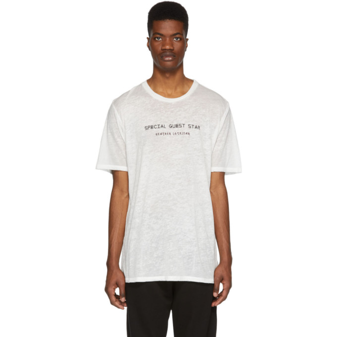 Image of Baja East White Special Guest Star T-Shirt