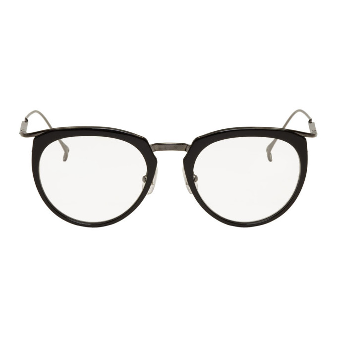 Image of Issey Miyake Men Black Boston I Glasses