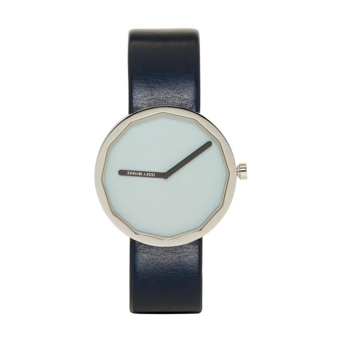 Issey Miyake Men Blue Twelve Series Watch