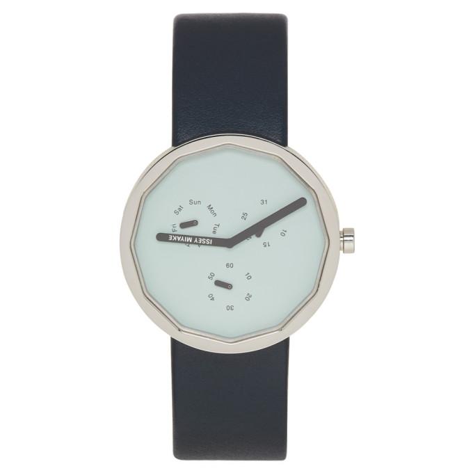 Issey Miyake Men Blue Twelve 365 Series Watch