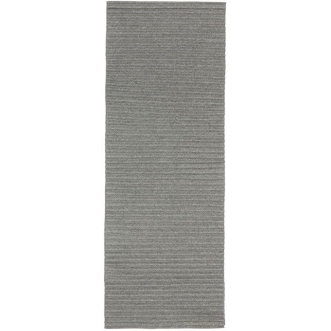 HOMME PLISSE ISSEY MIYAKE Homme Plisse Issey Miyake Grey Pleats Stole in 13 Charcoal