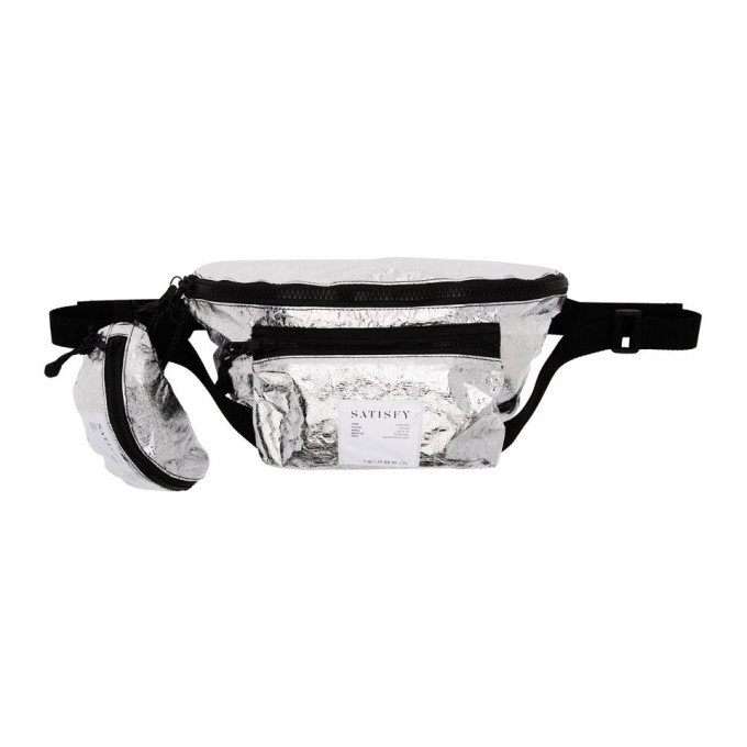 Satisfy  SATISFY SILVER POST-RUN BELT BAG