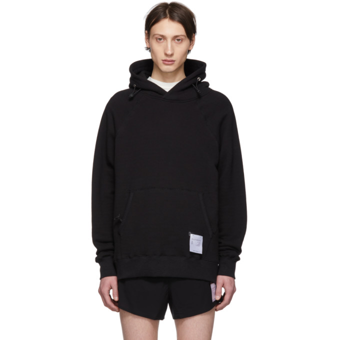Satisfy Pull a capuche noir Jogger