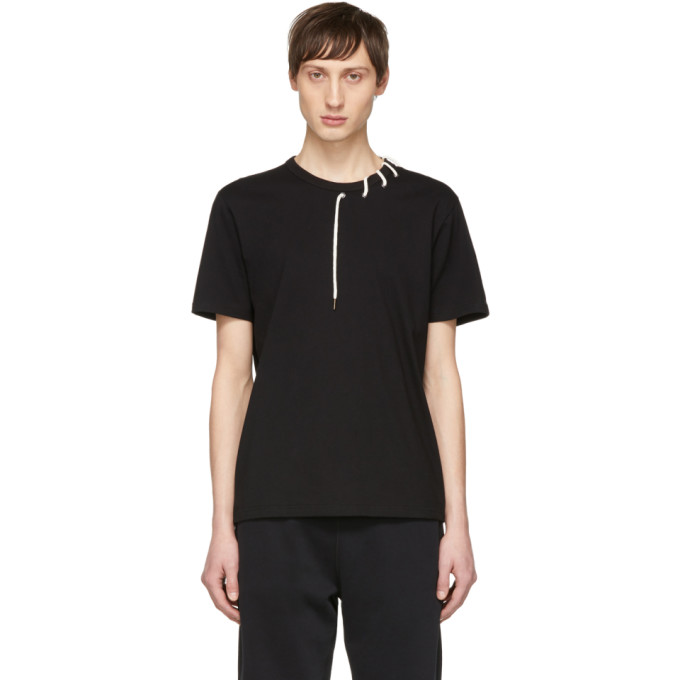 Image of Craig Green Black Laced T-Shirt