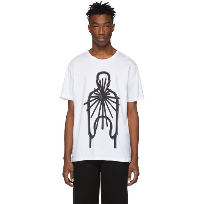 Craig Green T-shirt blanc Sculpture