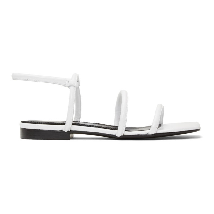 DORATEYMUR 10Mm Easy Leather Sandals in White