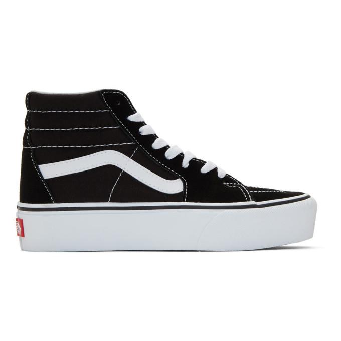 68e2b5a60d Vans Black Sk8 Hi Platform Sneakers