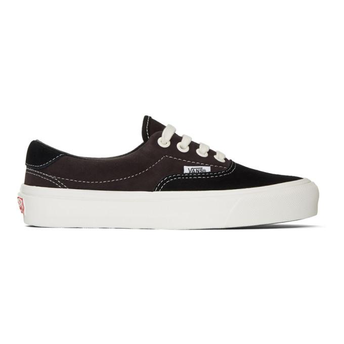Vans Black & Brown Suede OG Era 59 LX Sneakers
