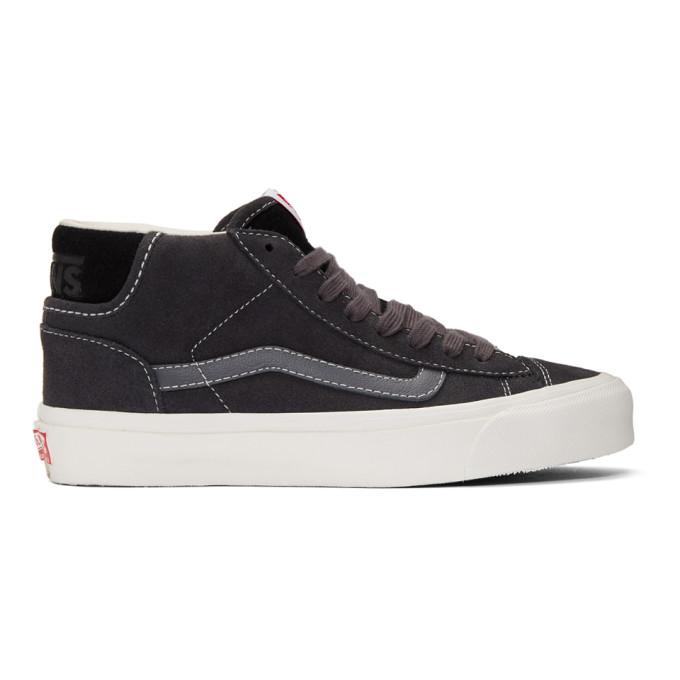 Vans Black OG Mid Skool Lx Sneakers