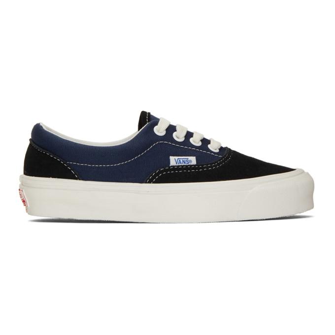 Vans Black & Blue OG Era LX Sneakers