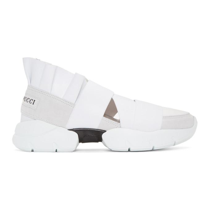 Emilio Pucci White City Up Sneakers