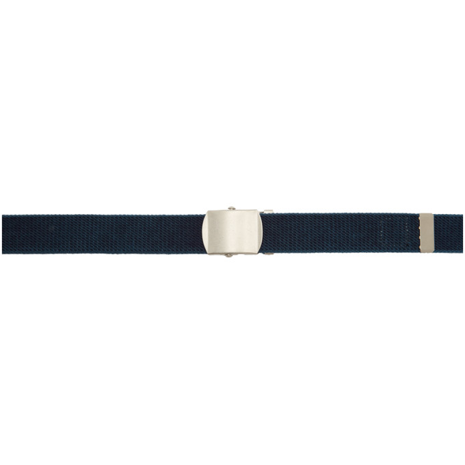 Blue Blue Japan Ceinture indigo Buckle