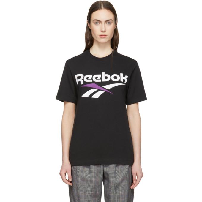Reebok T-shirts REEBOK CLASSICS BLACK VECTOR T-SHIRT