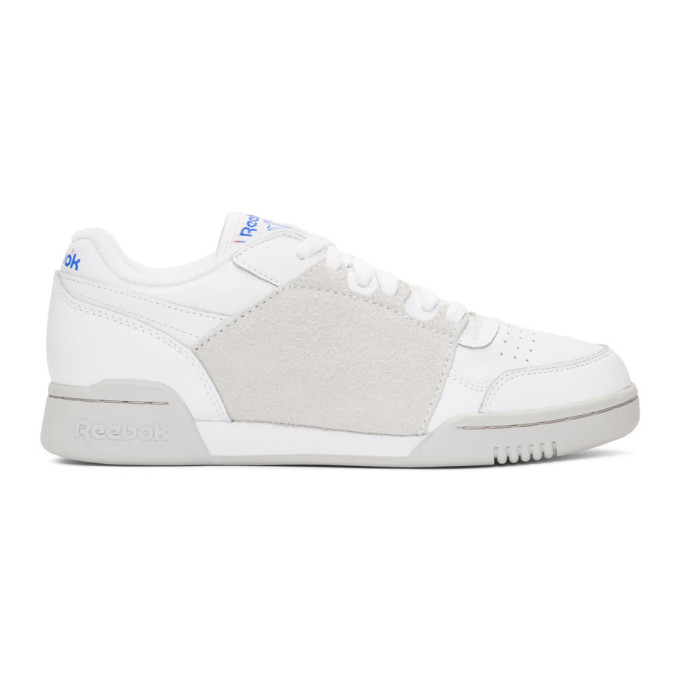 Reebok Sneakers REEBOK CLASSICS WHITE NEPENTHES EDITION WORKOUT PLUS SNEAKERS